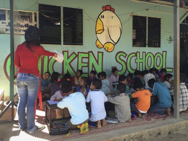 © Clara.GO- Guardería Chicken School