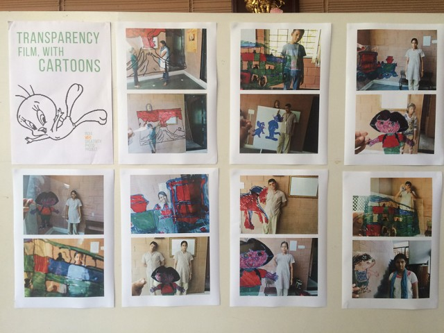 """""""Plastic and Cartoons"""" a l'associació Mirra."""