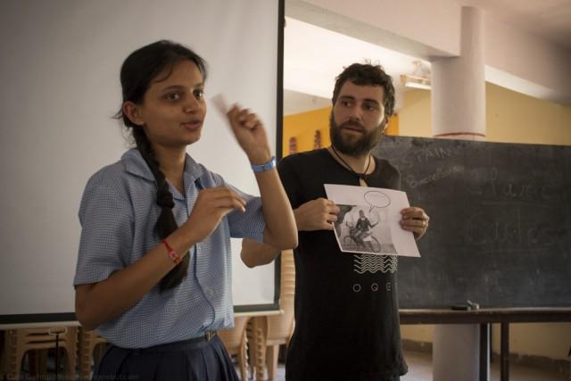 © New workshop - Silent Talks - SKID:The Sheila Kothavala Institute For The Deaf